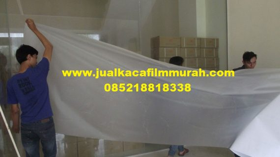 Jual kaca film sandblast DECOLUX Decorative Glass Film Jakarta