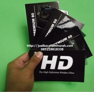 Kaca Film HD ( HD Window Films )